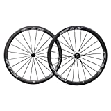 ICAN Roues carbone à pneus 38mm Sapim CX Ray-Rayons Shimano Sram 10/11...