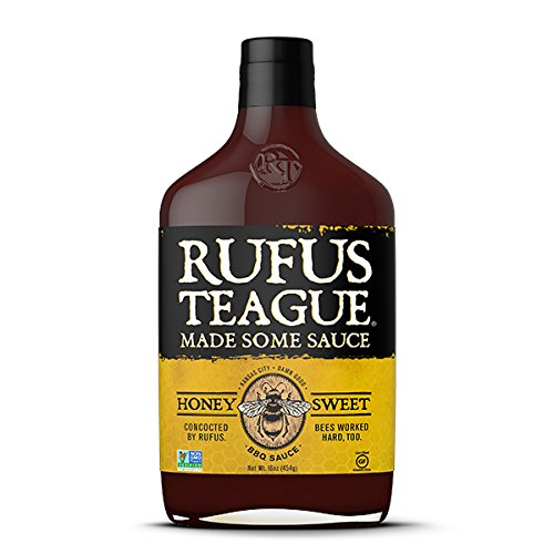 Rufus Teague \'Honey Sweet\' BBQ Sauce - 453g (16 oz)