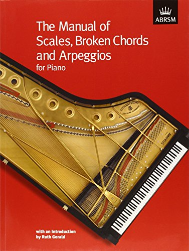 The Manual of Scales, Broken Chords and Arpeggios (ABRSM Scales & Arpeggios)