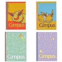 ポケモンセンター campusノート ブースター×サンダース 4冊セット