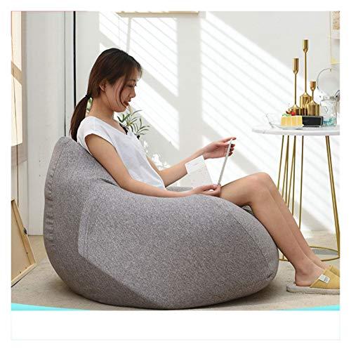 RKRLJX Sofa Beanbag Großer Sitzsack Beanbags Adult Highback Beanbag Großer Sitzsack Stuhl for Innen- Und Außenanwendungen Wasser Resistant- Perfekte Lounge Oder Gaming Chair