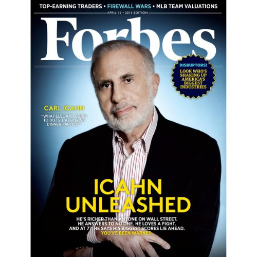 Forbes, April 1, 2013 cover art