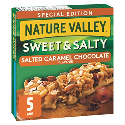 NATURE VALLEY Special Edition Sweet & Salty Salted Caramel Chocolate Flavor, 175g