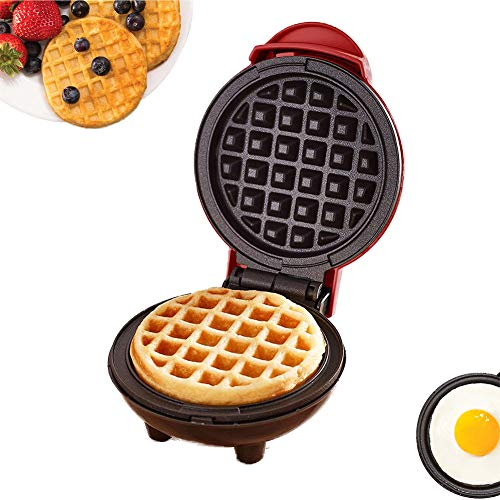 Best Deals! UPANV Waffle Maker Household Iron Machine Electric Cake Maker for Individual Waffles Dee...