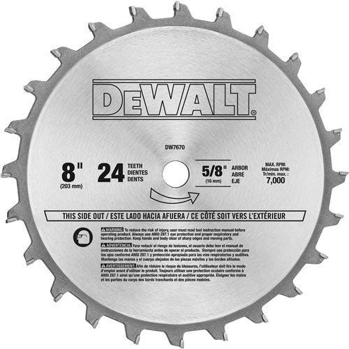 DEWALT Dado Set DW7670