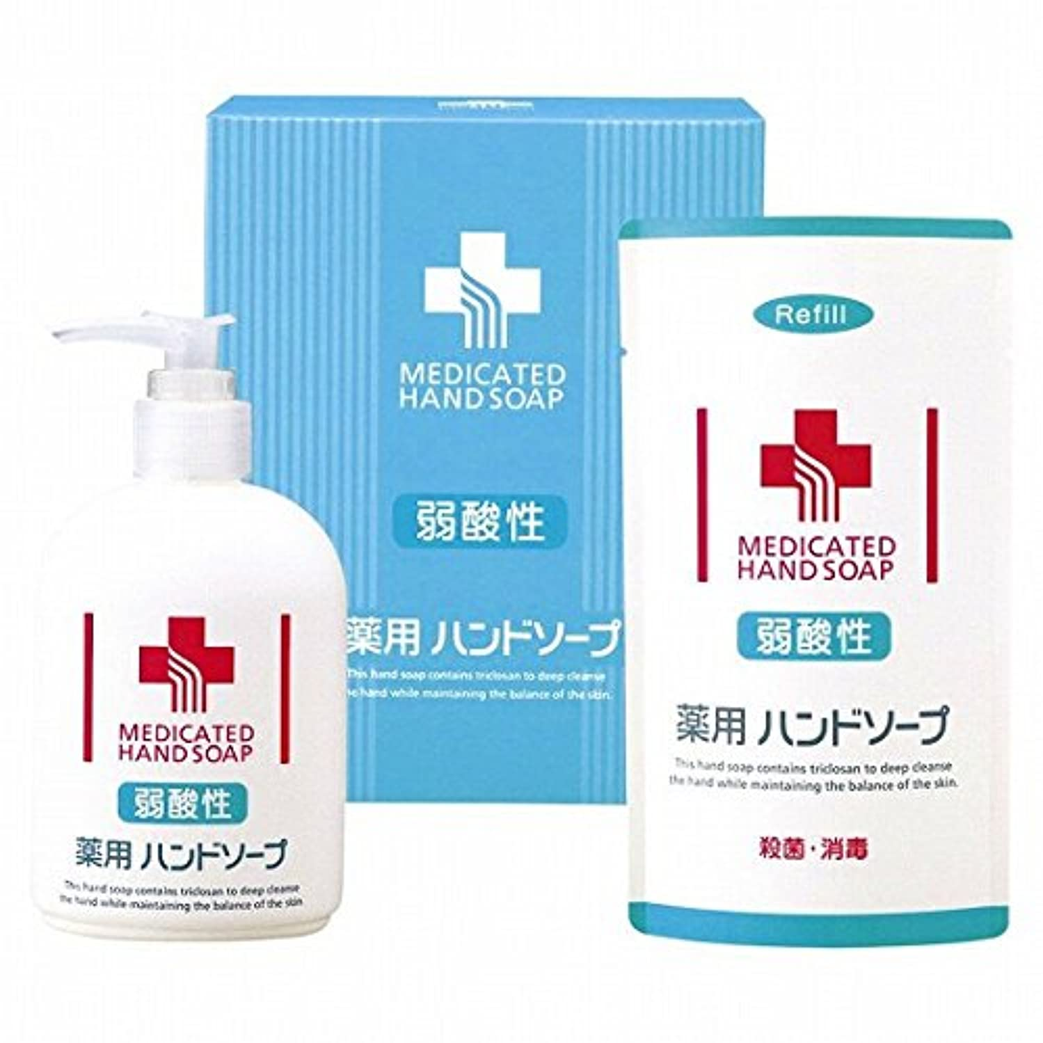 ヘロイン漂流ルアーnobrand 弱酸性 薬用ハンドソープセット(21957015)