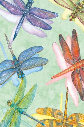 Tree-Free Greetings Noteables Notecards In Reusable Embossed Tin, 12 Card Assortment, Recycled, 4 x 6 Inches, Dragonflies, Multi Color (76016) Photo #3