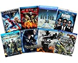 Ultimate Action & Adventure 8-Movie Blu-ray 3d Collection: Amazing Spider-Man 3...