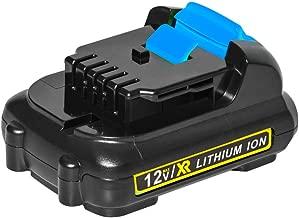 LiBatter 12V Max 3Ah Lithium Battery Compatible for All DeWalt 12V tools DCB120 DCB123 DCB127