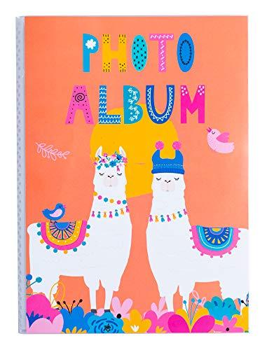 Erik® - Album foto 10x15 cm, 36 tasche, copertina morbida - Llama Lover