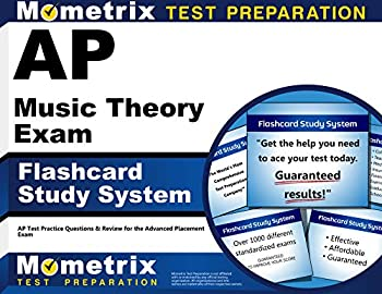 AP Music Theory Exam Flashcard Study System  AP Test Practice Questions & Review for the Advanced Placement Exam  Cards