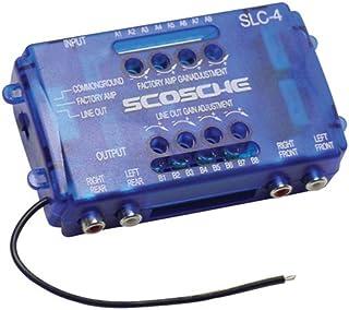 SCOSCHE SLC4 Car Stereo Speaker 4-Channel Audio Lineout Converter/OEM Amplifier Adapter..