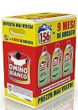 Omino Bianco – Detersivo Lavatrice Liquido, Essenza di Aloe Vera, 156 Lavaggi, 2600 ml x 3 Confezioni