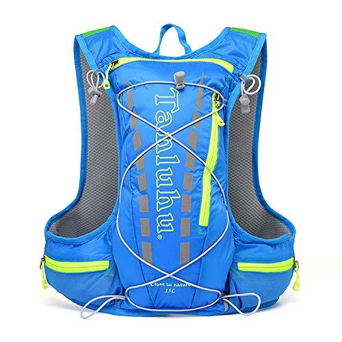 Ccoco Mochila de hidratação Marathon, colete de hidratação para ciclismo, mochila de 6 cores, mochila de água cruzada, ultraleve e respirável, adequada para ciclismo, caminhada, corrida