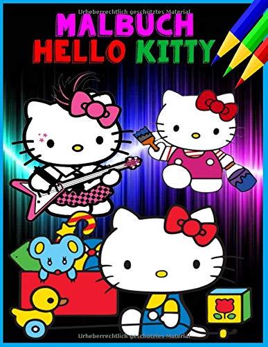 Malbuch Hello Kitty: 70 Seiten ausmalen (Deutsch)
