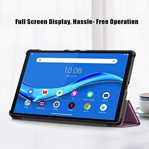 KATUMO Hülle für Lenovo Tab M10 HD 10.1 Zoll (2nd Gen, 2020) Schutzhülle Tablet M10 10.1 mit Auto Schlaf/Wach Case für TB-X306F Smart Cover