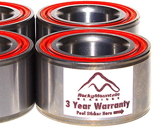 Polaris RZR 800 / S 800 / (4) 800 Both Front & Rear Wheel Carrier Bearings 2010 2011 2012 2013 2014 Fits All RZR 800 For Years Indicated