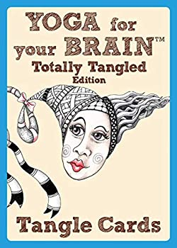 Yoga For Your Brain Totally Tangled Edition  Tangle Cards  Design Originals  Portable Deck of Zentangle  R  Cards in a Case  40 Step-by-Step Tangling Patterns and Easy Beginner-Friendly Instructions