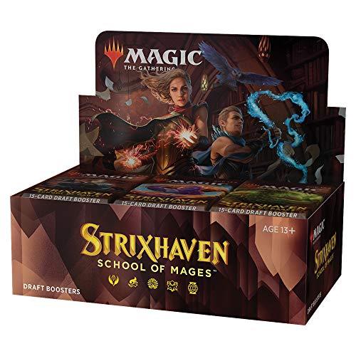 Caja de cartón para Dulces – Strixhaven: School of Mages (36 Sobres) – Eng