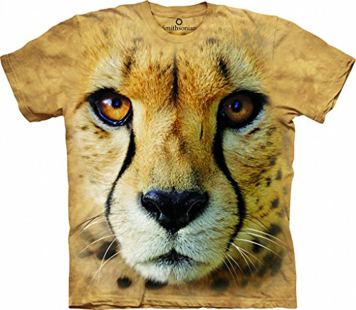The Mountain Unisexe Adulte Animalier Tete De Guepard T Shirt S