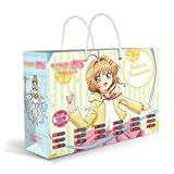 CHEONGS Card Captor Sakura Gift Set/Anime Surprise Box/Anime Big Gift Box Périphérie/Cartes Postales/Affiches/Badge en métal/Autocollants/signets/Objets de Collection/Ornements/Périphérie