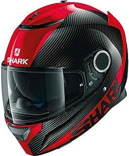 tama/ño M color negro//blanco//rojo EVOline de tibur/ón 3/hataum KWR cascos de motocicleta