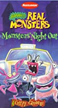 Aaahh!!! Real Monsters - Monsters' Night Out 1997 VHS