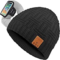 Goldworld Bluetooth Beanie Hat with Run Armband (Black)