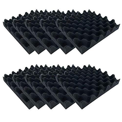 LightKids Schallschutz Schaumstoff Studio Schallschutz Behandlung Wand Panel Fliesen Schalldämmung Rauschunterdrückung Pads Schwarz