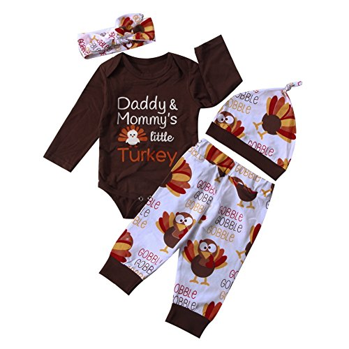 Mommy/'s Little Turkey Baby Onesie Shirt Thanksgiving Mom Mother Newborn Gerber