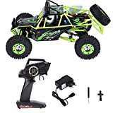 V GEBY 12428 1/12 RC Crawler Car, Wltoys 12428 Upgrade Version 4WD 2.4GHz 1/12 Scale Electric RC Crawler Car (UE 100-240V)