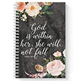 Softcover She Will Not Fall 5.5' x 8.5'...