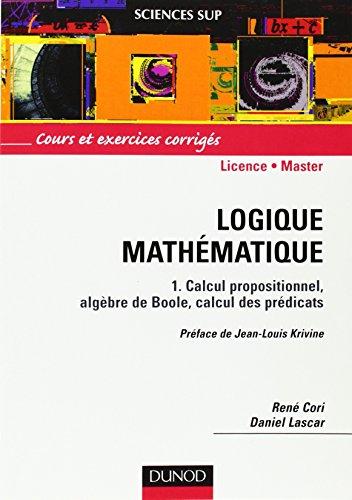 Logique mathématique, tome 1