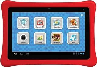 NABI NBTY07SMKG 7 Kids Tablet- Black/Red
