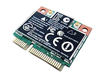 Qualcomm / Atheros AR9565 QCWB335 Half Mini PCIe PCI-Express WLAN WiFi Wireless BT Bluetooth Card Replacement for dell DW1705 C3Y4J 5GC50