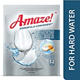 Amaze! Premium All-in-One Dishwasher Tablets - Powerful Hard...