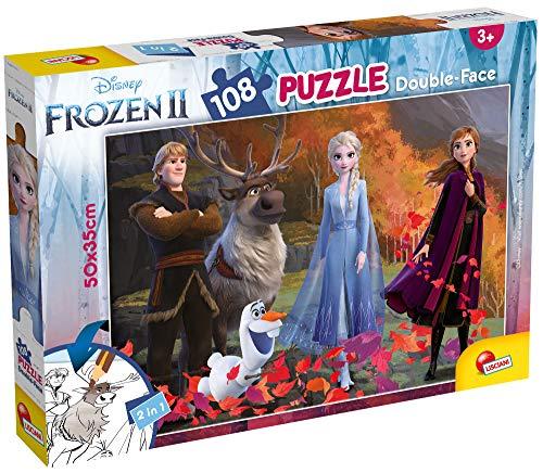 Lisciani  Puzzle Doble Cara Plus 108 (81301)