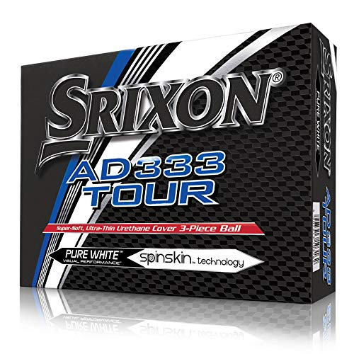 Srixon SRX AD333 Tour 3 (12) Balle de Golf Mixte Adulte,...