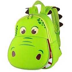 5. YISIBO 3D Cartoon Toddler Dinosaur Backpack