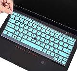 Keyboard Cover for Thinkpad X380 X390 Yoga, X395 Yoga 13.3 Keyboard Cover for Lenovo Yoga 370, Thinkpad X13 L13, ThinkPad X230S X240 X240S X250 X260 X270 X280 Laptop Keyboard Cover Skin, Mint