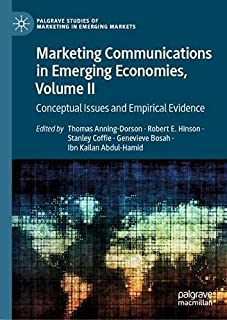 Marketing Communications in Emerging Economies, Volume II: Conceptual Issues and Empirical Evidence