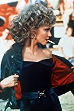 Olivia Newton-John Grease Leather Jacket and Cigarette 18x24 Poster