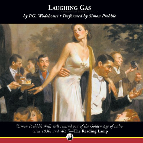 Laughing Gas audiobook cover art