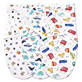 Bubble bear Adjustable Baby Swaddle Blanket 0-3 Months - Very Cute and Charming Pattern , Soft and Skin-Friendly , Baby Swaddles 0-3 Months , Newborn Swaddle , Swaddle Blankets for Baby Boy.