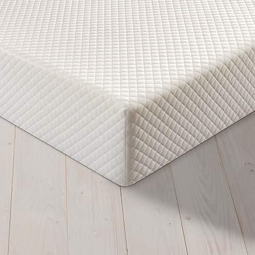 Silentnight Easy Living Memory Plus Foam Rolled Mattress | Made in the UK |Medium |Single, White