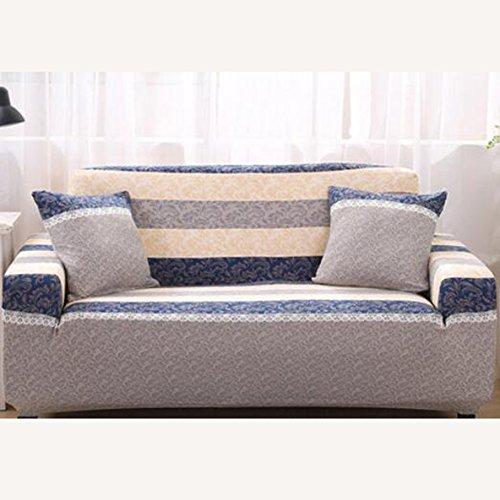 L&Zr Multi-Size Sofabezüge Sektionaltor Couch Bezüge 1Stück Rutschfest Sofa Mats Möbel Protectors Bezüge für Sofa, gesteppt, Liebesschaukel (88,9–139,7cm) beige