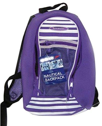 Speedo Nautical/Junior Backpack in Purple