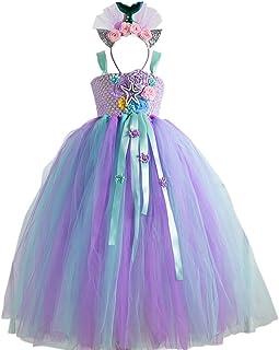 Vintage unicorn mermaid tutu dress,unicorn flower tutu dress,mermaid tutu,pastel mermaid tutu dress,flower tutu dress,under the sea mermaid