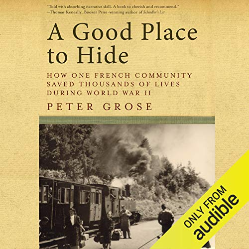 A Good Place to Hide audiobook cover art