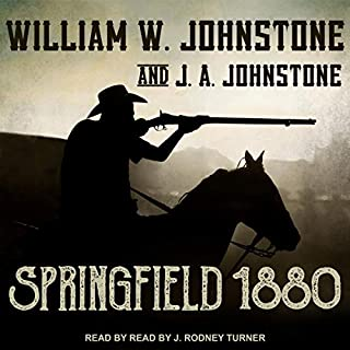 Springfield 1880 audiobook cover art